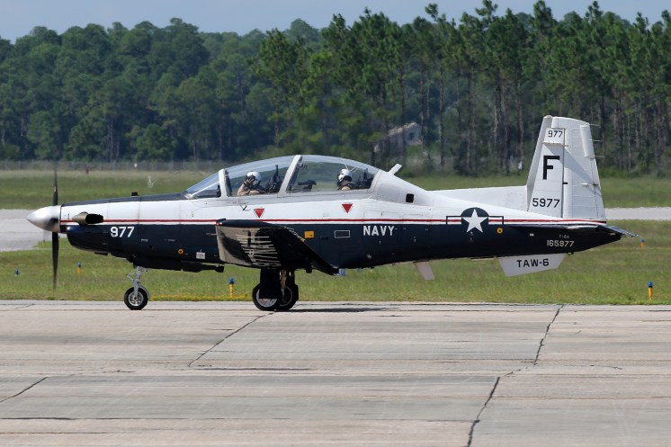 © Mark Forest - Beechcraft T-6A Texan II 165977 TAW-6 - US Naval Air Training Command