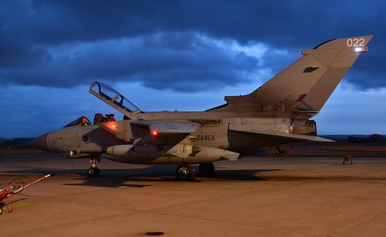 © Niall Paterson - Panavia Tornado GR4 ZA543 - XV(R) Squadron Photo Event