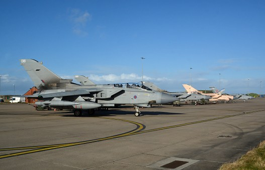 © Niall Paterson - Panavia Tornado GR4 ZD713 - XV(R) Squadron Photo Event