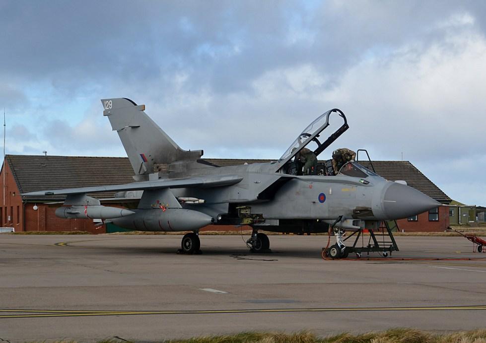 © Niall Paterson - Panavia Tornado GR4 ZG752 - XV(R) Squadron Photo Event