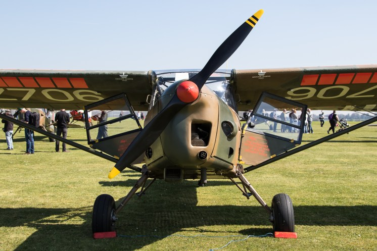 © Adam Duffield - Auster AOP.9 G-BURR/WZ706 - Gazelle 50th Anniversary Fly-in