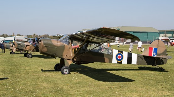© Adam Duffield - Auster AOP.V G-ANIE/TW467 - Gazelle 50th Anniversary Fly-in
