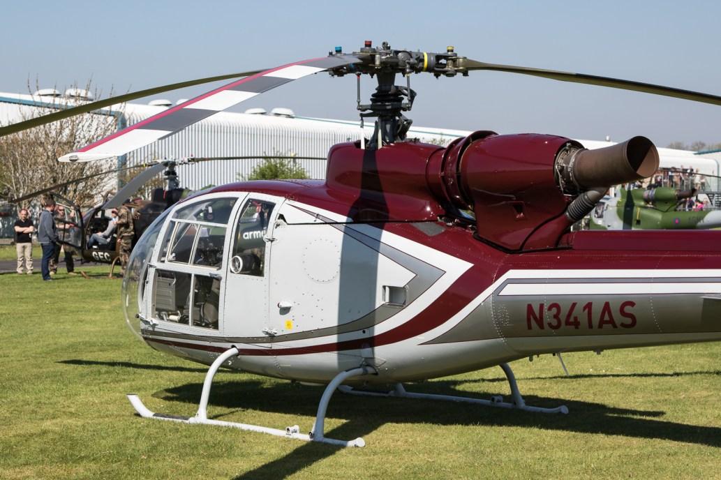 © Adam Duffield - SA.341G N341AS - Gazelle 50th Anniversary Fly-in