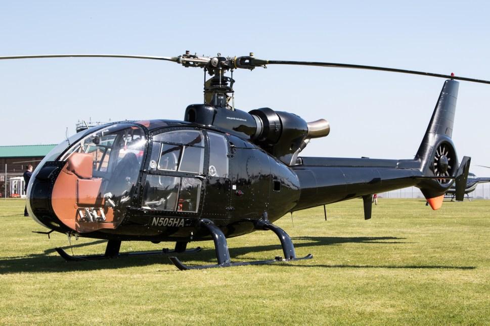 © Adam Duffield - Civilian operated SA.341G N505HA - Gazelle 50th Anniversary Fly-in