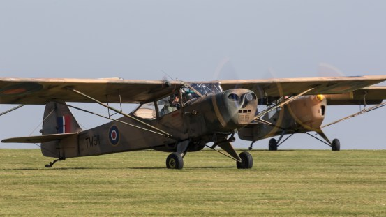 © Adam Duffield - Auster AOP.V G-APAF/TW511 - Gazelle 50th Anniversary Fly-in