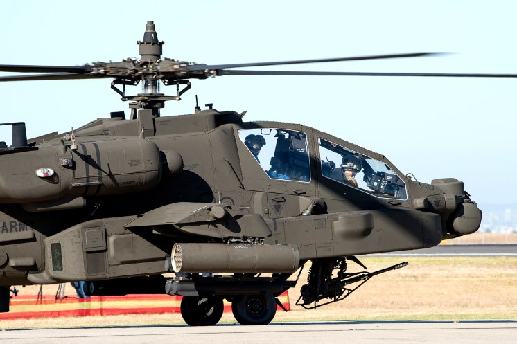 © Douglas Monk - US Army Boeing AH-64D Apache - Australian International Air Show 2017