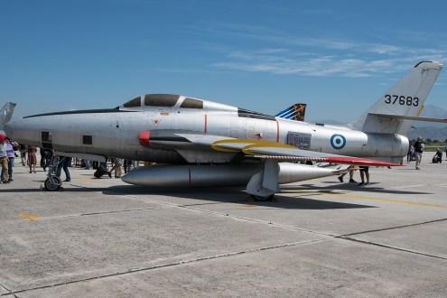 ©Duncan Monk - Hellenic Air Force RF-84F 53-7683 - Larissa AB