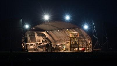 © Adam Duffield - Panavia Tornado GR4's undergo maintenance - RAF Marham Enthusiasts Event 2017