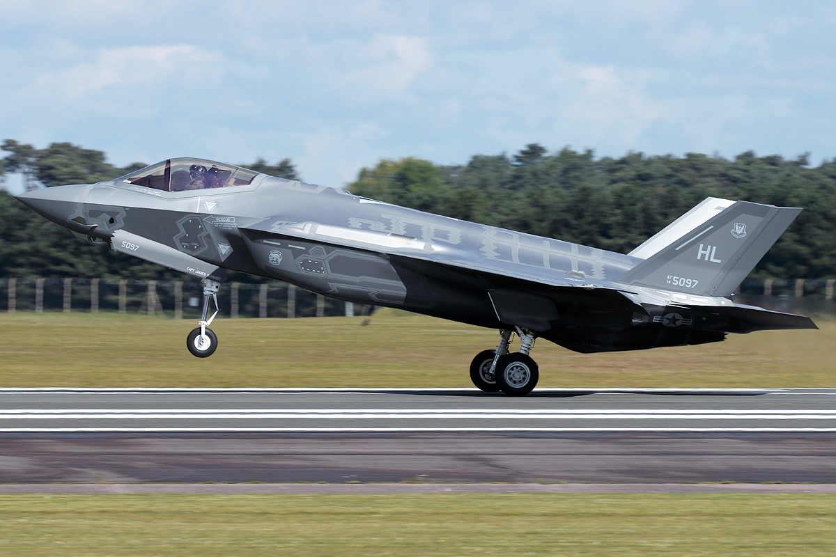 © Mark Kwiatkowski - Lockheed Martin F-35A Lightning II 14-5097 - F-35A Deployment to RAF Lakenheath