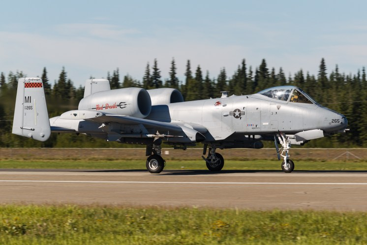 © Mark McGrath - A-10C (80-0265) of 107th FS Michigan ANG takes off from Eielson AFB during Red Flag Alaska 17-2 - Red Flag Alaska 17-2
