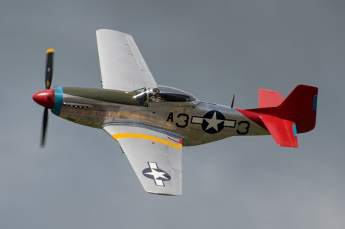 © Duncan Monk - North American P-51D Mustang - Abingdon Air and Country Show 2017