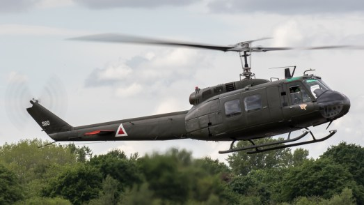 © Adam Duffield - Bell UH-1H Iroquois - Abingdon Air and Country Show 2017