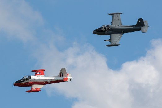© Adam Duffield - Jet Provost T5 and BAC Strikemaster - Duxford Air Festival 2017