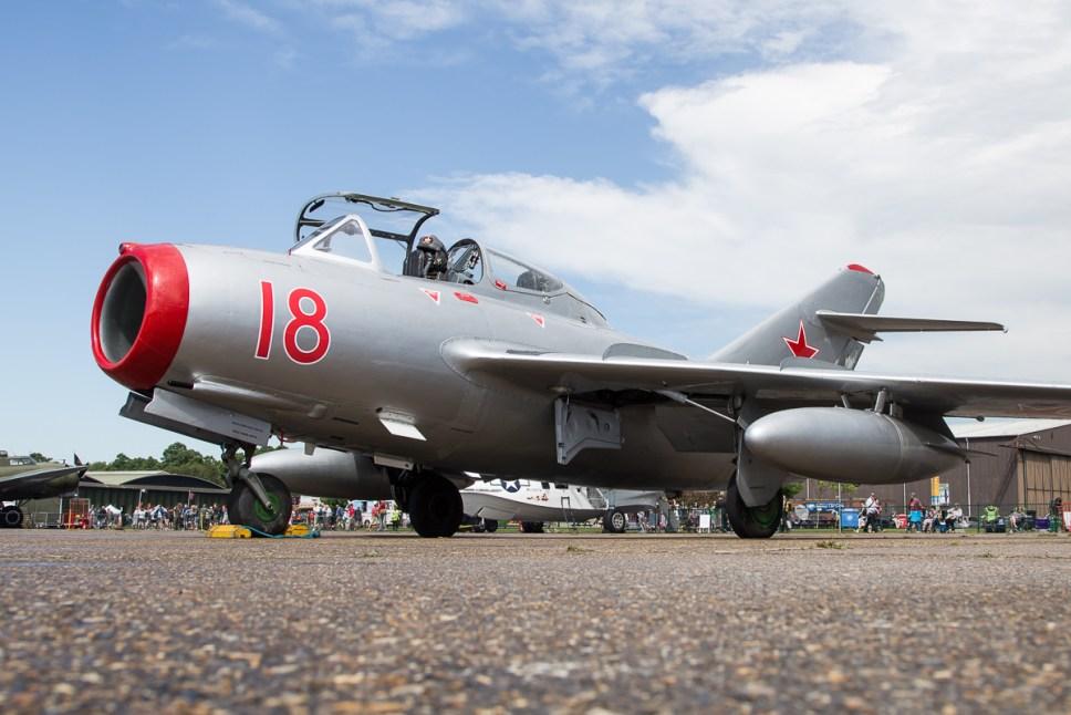 © Adam Duffield - Mikoyan-Gurevich MiG-15UTI 'RED-18 - Duxford Air Festival 2017