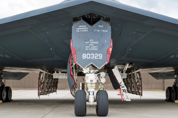 © Duncan Monk - Northrop Grumman B-2A 88-0329 - USAF Bomber Deployment RAF Fairford