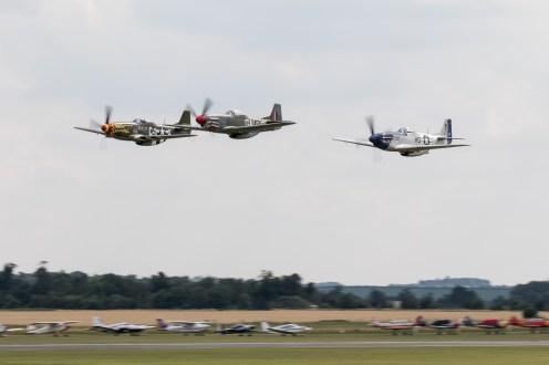 © Adam Duffield - The Horsemen low over Duxford - Flying Legends 2017