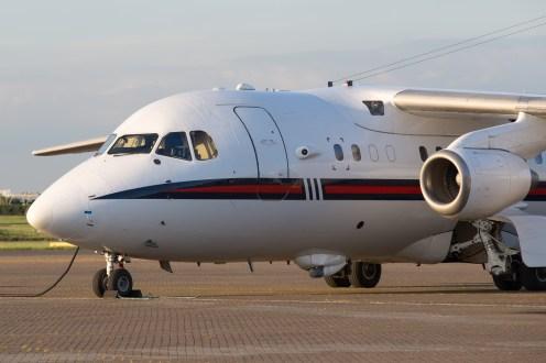 © Adam Duffield - British Aerospace 146 ZE701 - Northolt Evening Photoshoot XXIIa
