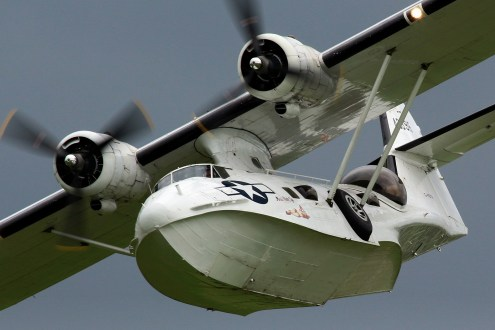 © Jamie Ewan - Consolidated Aircraft PBY-5A Catalina - Shuttleworth Fly Navy 2017