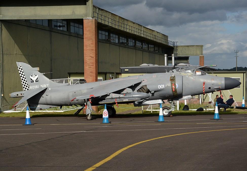 © Niall Paterson - Royal Navy British Aerospace Sea Harrier F/A2 - RAF Cosford Air Show 2017