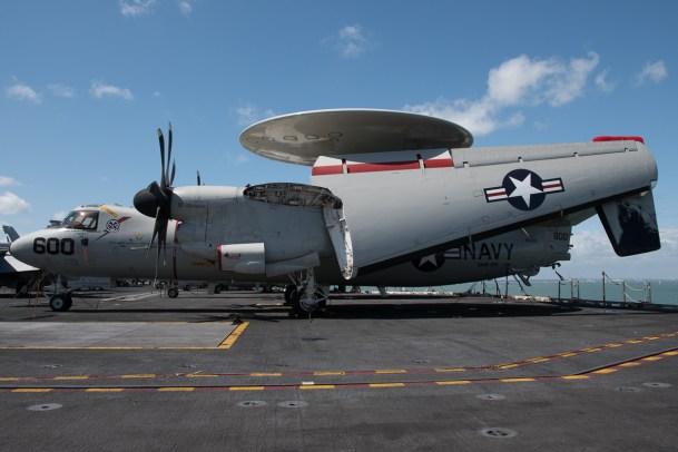© Duncan Monk - Northrop Grumman E-2C Hawkeye 165507/AJ 600 - USS George H W Bush CVN 77