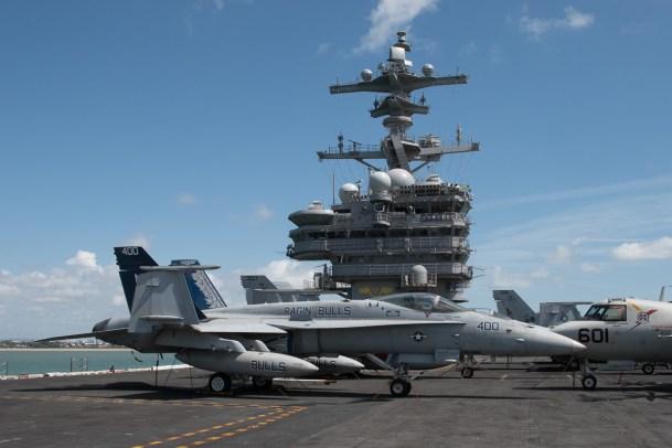 © Duncan Monk - FA-18C Hornet 165187/AJ 400 - USS George H W Bush CVN 77