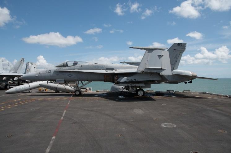 © Duncan Monk - Boeing F/A-18E Super Hornet 165171/AJ 410 - USS George H W Bush CVN 77