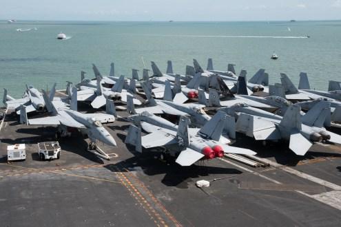 © Duncan Monk - F/A-18's CVW 8 - USS George H W Bush CVN 77
