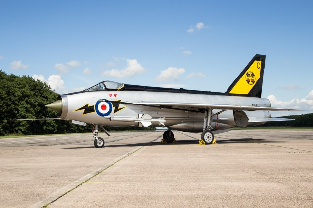 ©Adam Duffield - English Electric Lightning F3 XR713 111 Sqn markings - Lightning XR713 56 Sqn scheme unveiling