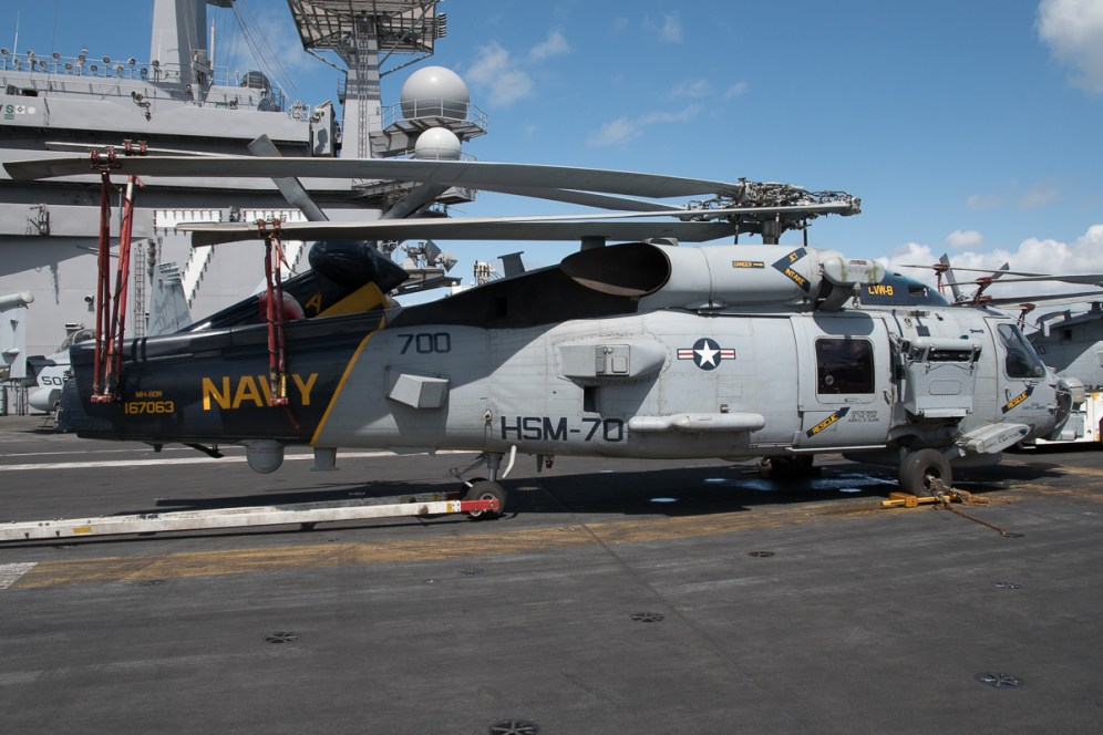 © Duncan Monk - Sikorsky MH-60R Sikorsky MH-60R 167063/AJ 700 - USS George H W Bush CVN 77