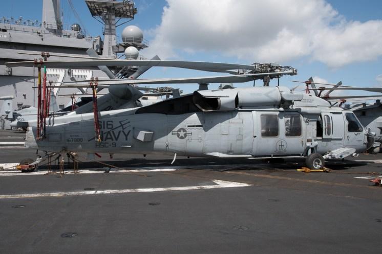 © Duncan Monk - Sikorsky MH-60S 167888/AJ 616 - USS George H W Bush CVN 77