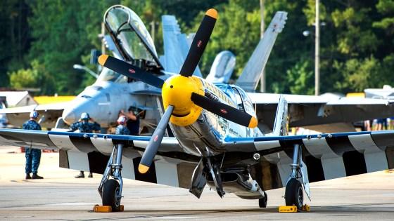© Douglas Monk - P-51D Mustang 'Bald Eagle' - NAS Oceana Airshow 2017