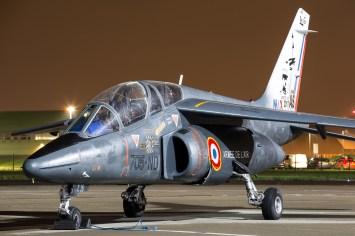 © Adam Duffield - Armée de l'Air Alpha Jet 705-ND / E26 - Northolt Nightshoot XXIII