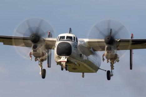 © Adam Duffield - C-2A 162143 / 44 on final approach at NALF Fentress - VRC-40 'Rawhides' – C-2A Greyhound