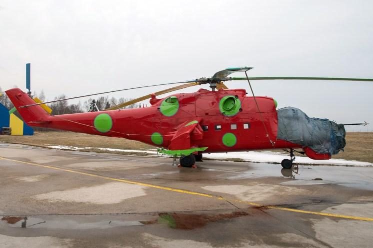 © Duncan Monk - ex-Hungarian Air Force Mil Mi-24D Hind 115 - Jurmala Airport Air Zoo