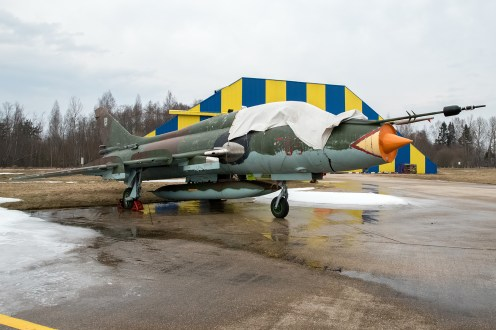 © Duncan Monk - ex-Polish Air Force Su-22UM3K 305 - Jurmala Airport Air Zoo
