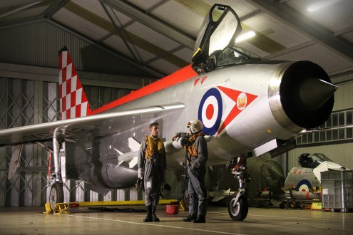 © Jamie Ewan - English Electric Lightning F3 XR713 / C (56 Squadron) - Lightning Preservation Group – ORP Scramble