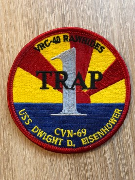 © Duncan Monk - VRC-40 '1 Trap' patch – C-2A Greyhound