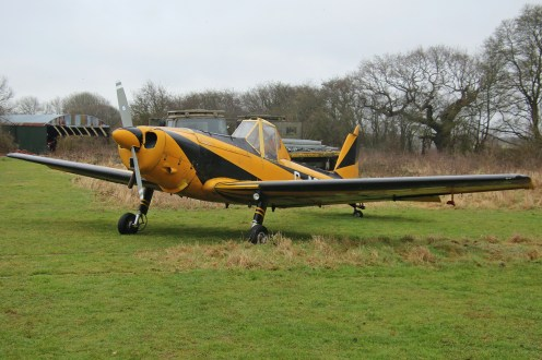© Jamie Ewan - de Havilland Canada DHC Chipmunk T10 G-ATOF (ex-WB563) (Glider Tug Modification) - Spanhoe Photocall
