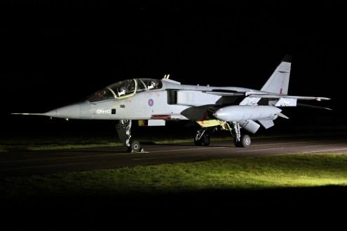© Jamie Ewan - Defence College of Technical Training (Ex-QinetiQ) SEPECAT Jaguar T2A XX833 - RAF Cosford Nightshoot