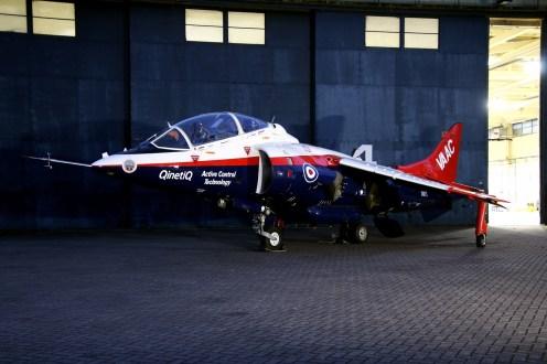 © Jamie Ewan - Hawker Siddeley Harrier T4 XW175 -VAAC (Vectored thrust Aircraft Advanced Control) - RAF Cosford Nightshoot