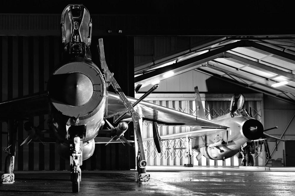 © Jamie Ewan - English Electric Lightning F3 XR713-C (XR718-C) - Lightning Preservation Group Nightshoot