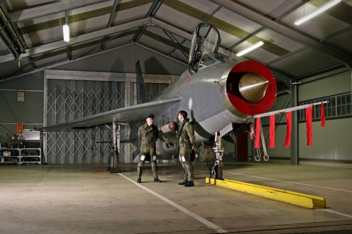 © Jamie Ewan - English Electric Lightning F6 XR728 / JS - Lightning Preservation Group Nightshoot