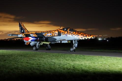 © Jamie Ewan - Royal Air Force (Defence College of Technical Training) SEPECAT Jaguar GR3 XX119 / AI 'Spotty' (238 Squadron) - RAF Cosford Nightshoot