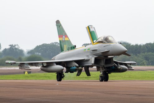 ©Adam Duffield - 3 Squadron Centenary Typhoon FGR.4. ZJ936 - RAF Typhoon Special Schemes