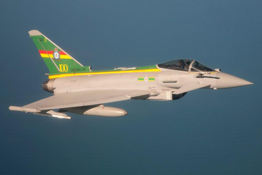 ©Duncan Monk - 3 Squadron Centenary Typhoon FGR.4. ZJ936 - RAF Typhoon Special Schemes