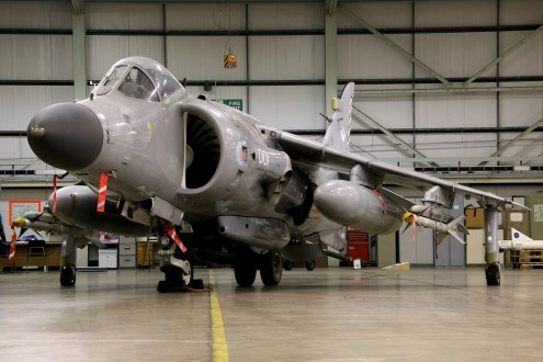 © Jamie Ewan - Fleet Air Arm British Aerospace Sea Harrier FA.2 ZH801/001 - Navy Wings II with Threshold.aero