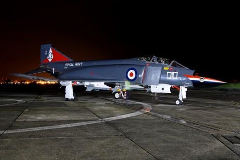 © Jamie Ewan - Fleet Air Arm McDonnell Douglas F-4K Phantom FG1 XV586 / R-010 - Navy Wings II with Threshold.aero