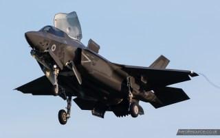 © Adam Duffield - F-35B arrives at RAF Marham