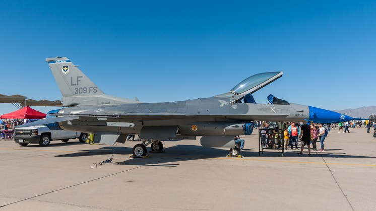 © Doug Monk - 309 Fighter Squadron F-16C - Luke AFB Airshow 2018