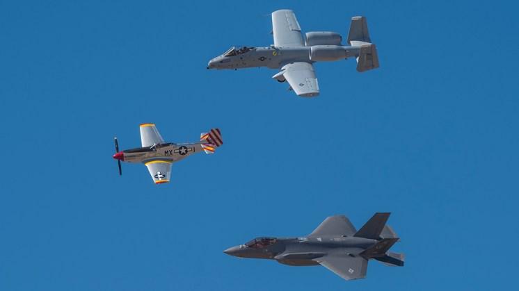 © Doug Monk - Heritage Flight Formation - Luke AFB Airshow 2018